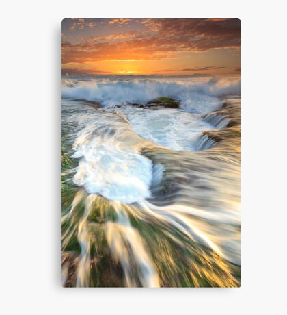 Drowning Canvas Print