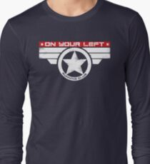 """""""On Your Left Running Club"""" Hybrid Inverted T-Shirt"""