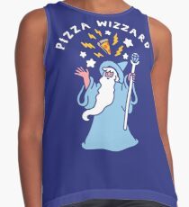 Magical Pizza Wizzard Sleeveless Top
