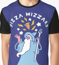 Magical Pizza Wizzard Graphic T-Shirt