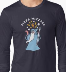 Magical Pizza Wizzard Long Sleeve T-Shirt