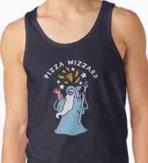 Magical Pizza Wizzard Tank Top