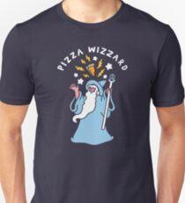 Magical Pizza Wizzard Slim Fit T-Shirt