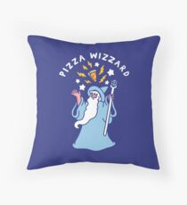 Magical Pizza Wizzard Floor Pillow