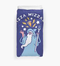 Magical Pizza Wizzard Duvet Cover