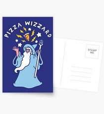 Magical Pizza Wizzard Postcards