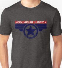 """On Your Left Running Club"" Hybrid Slim Fit T-Shirt"