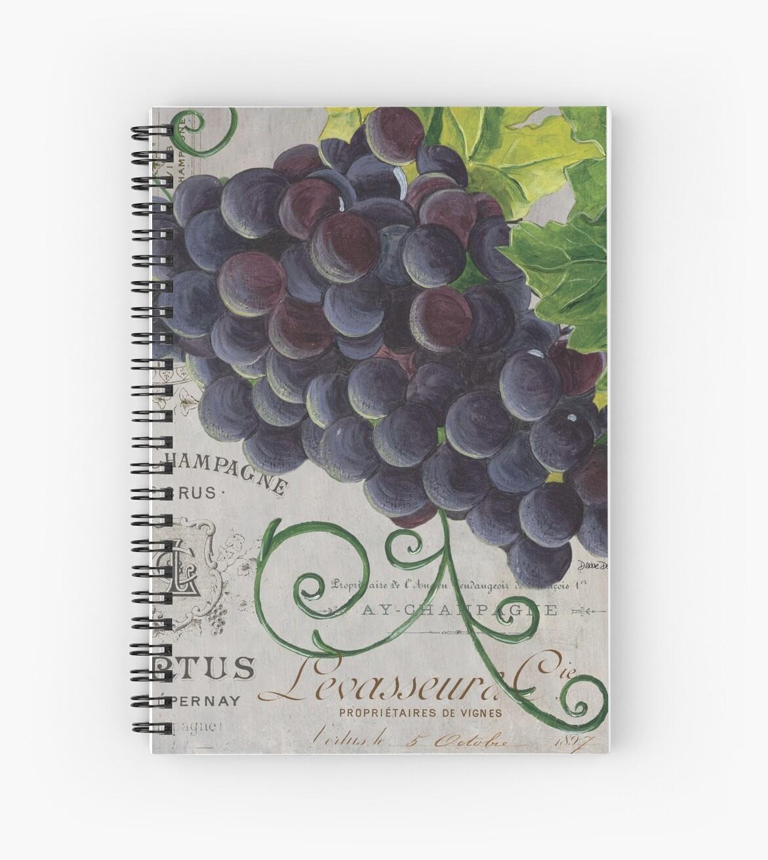 French Purple Grapes by Debbie DeWitt