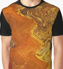 Autumn Gold Graphic T-Shirt