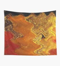 Autumn Gold Wall Tapestry