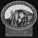 Marijuana Colorado Springs by MarijuanaTshirt