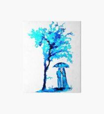 The Watercolour Tree Art Board Print