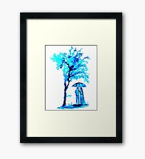 The Watercolour Tree Framed Print