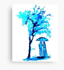 The Watercolour Tree Canvas Print