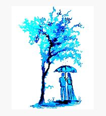The Watercolour Tree Photographic Print
