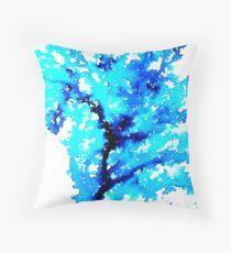 The Watercolour Tree Throw Pillow