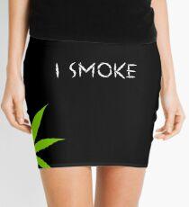 I Smoke Marijuana Mini Skirt