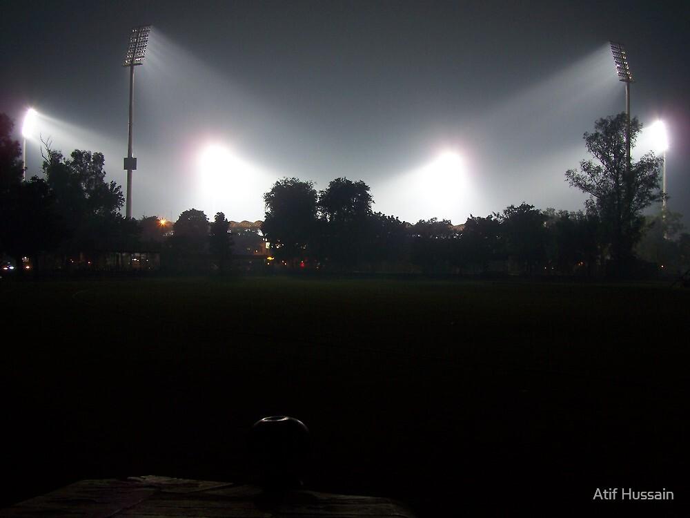 Flood Lights by Atif Hussain