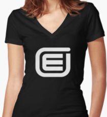 encom (the next generation) Women's Fitted V-Neck T-Shirt