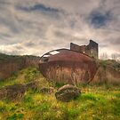 Rusted and Blasted - Blast Furnace Park - Lithgow NSW by Philip Johnson
