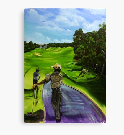 The 9th tee Twin Waters  Canvas Print