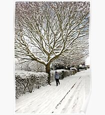Winter wonderland in England Poster
