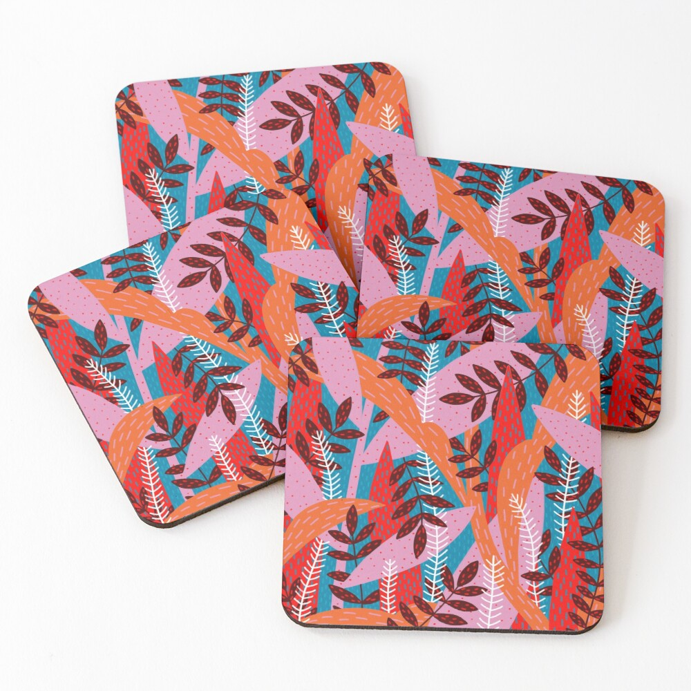 Magical Forest Coasters (Set of 4)