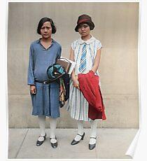 Two fashionable women in Washington D.C. 1927 Poster