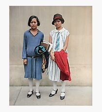Two fashionable women in Washington D.C. 1927 Photographic Print
