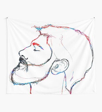 BAANTAL / Hominis / Faces #5 Wall Tapestry