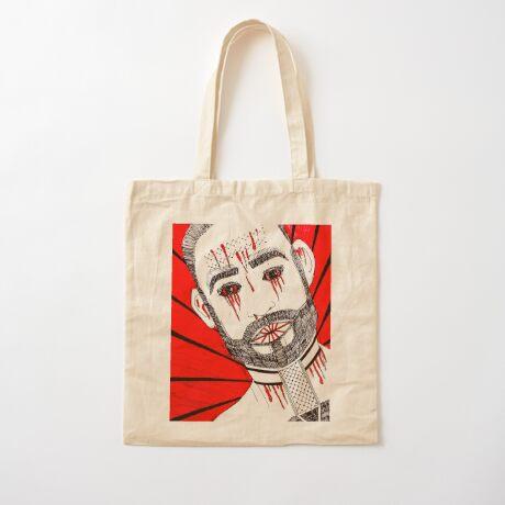 BAANTAL / Hominis / Faces #6 Cotton Tote Bag
