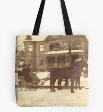 A Late-Victorian Winter ~ Tonawanda, NY Tote Bag