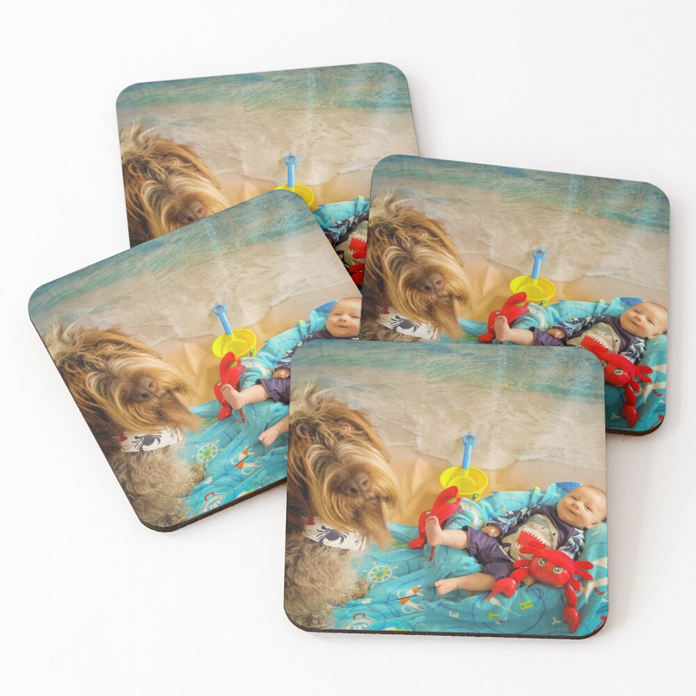 CRABBY Coasters (Set of 4)