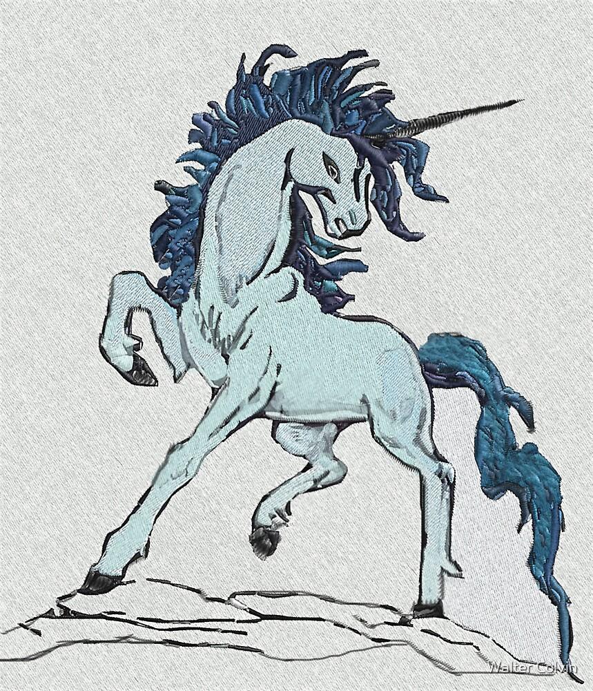 Blue Unicorn by Walter Colvin