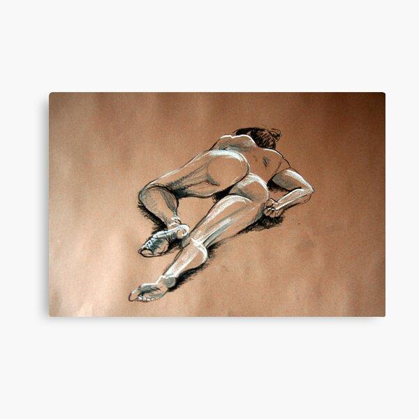 Reclining female nude #1 Canvas Print