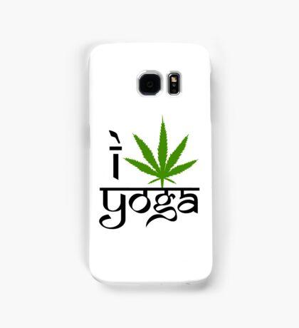 I Marijuana Yoga Samsung Galaxy Case/Skin