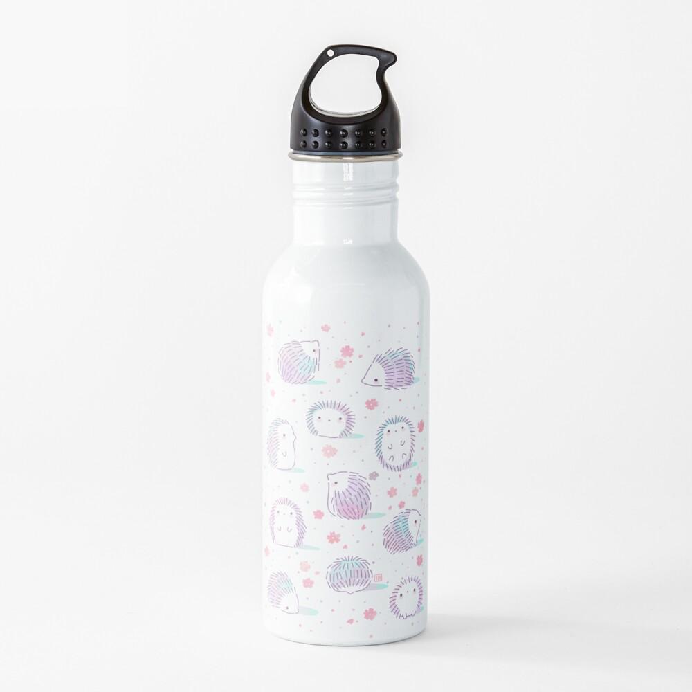 Spring Hedgehog Pattern Water Bottle