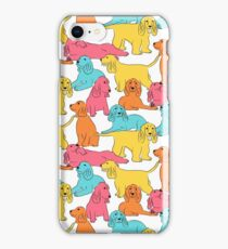 Cocker Spaniel Pattern iPhone Case/Skin