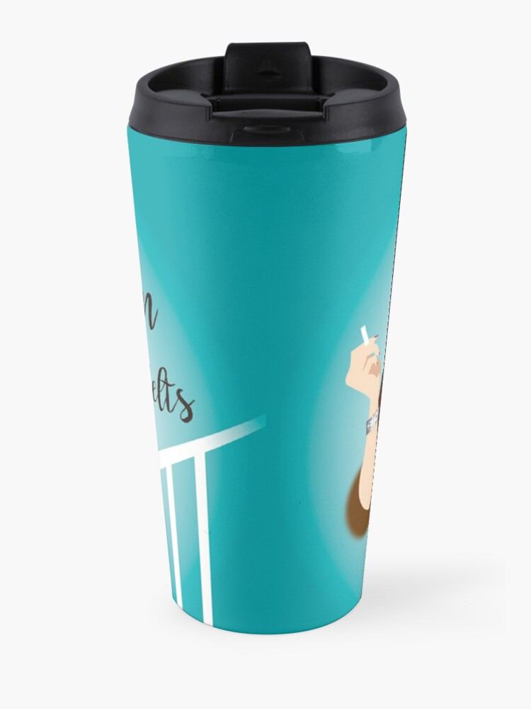 Alternate view of Fasten your seatbelts Travel Mug