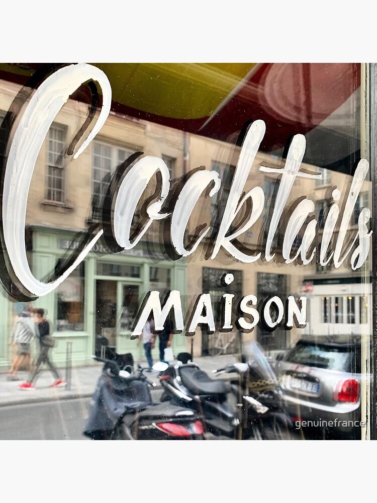 Paris Cafe: Cocktails Maison by genuinefrance