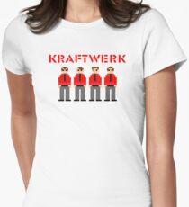 Kraftwerk 8-bit Women's Fitted T-Shirt