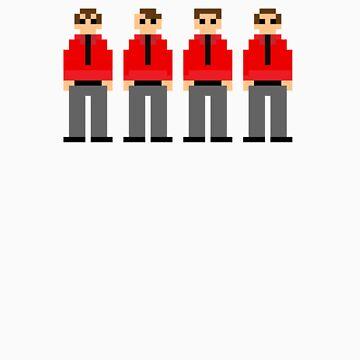 Kraftwerk 8-bit by bd0m