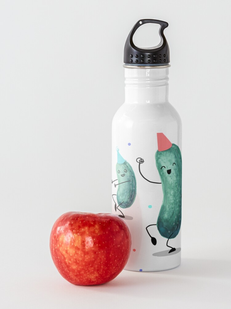 Alternate view of Pickle Party! Water Bottle