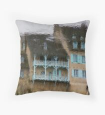 Look Deep Into My Waters... Throw Pillow
