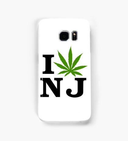 I Love New Jersey Marijuana Cannabis Weed T-Shirt Samsung Galaxy Case/Skin