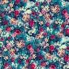 Glitch Flowers by RIZA PEKER