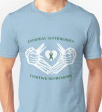 Depression Heroes Unisex T-Shirt