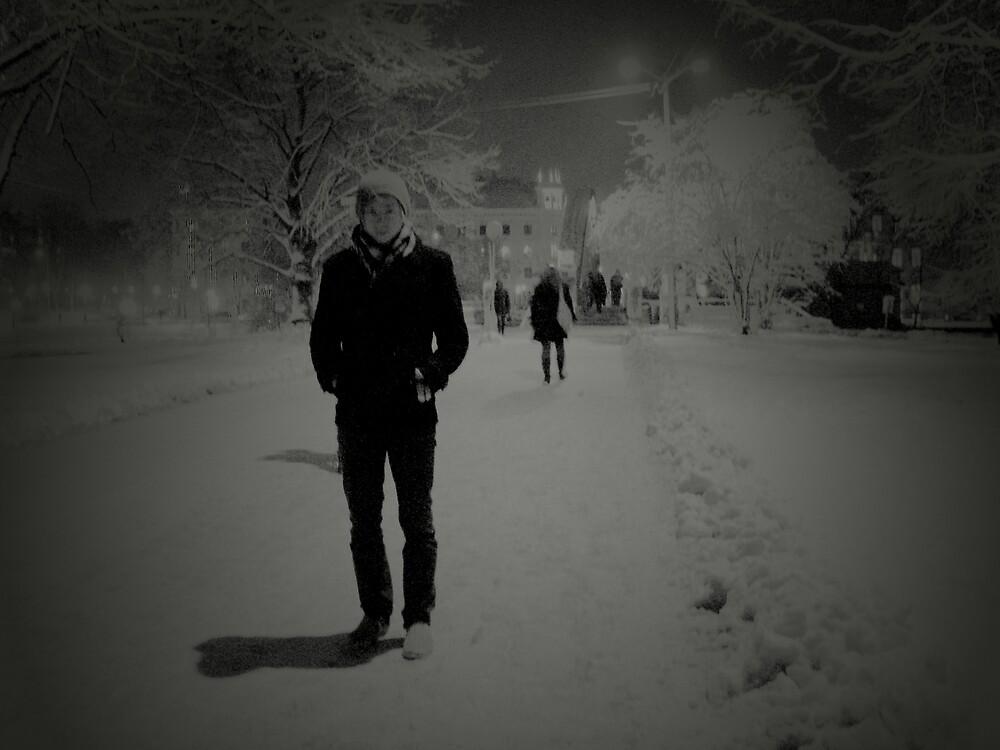 White in the dark by Liis