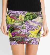 Scottish Spring Flowers Mini Skirt