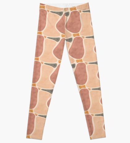 Pottery Shapes #redbubble #abstractart Leggings